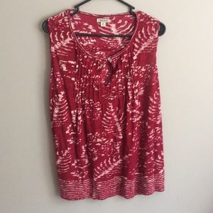 Lucky Brand sleeveless top size medium